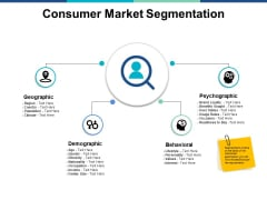 Consumer Market Segmentation Ppt PowerPoint Presentation Gallery File Formats