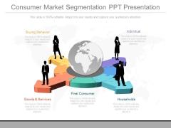 Consumer Market Segmentation Ppt Presentation