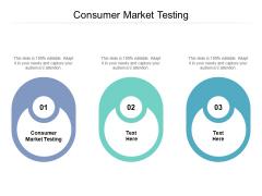 Consumer Market Testing Ppt PowerPoint Presentation Portfolio Visual Aids Cpb