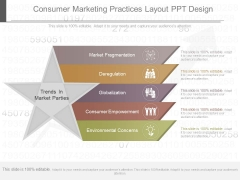 Consumer Marketing Practices Layout Ppt Design