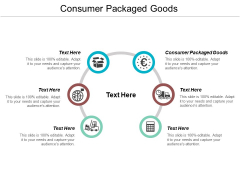 Consumer Packaged Goods Ppt PowerPoint Presentation Model Design Inspiration Cpb