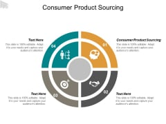 Consumer Product Sourcing Ppt PowerPoint Presentation Outline Graphics Tutorials Cpb