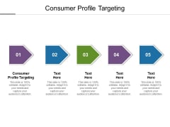 Consumer Profile Targeting Ppt PowerPoint Presentation Visual Aids Example File Cpb
