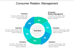 Consumer Relation Management Ppt PowerPoint Presentation Infographic Template Ideas Cpb