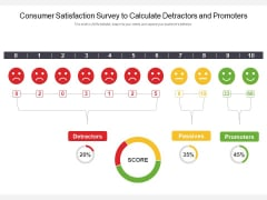 Consumer Satisfaction Survey To Calculate Detractors And Promoters Ppt PowerPoint Presentation Show Topics PDF