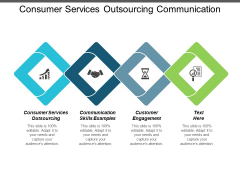 Consumer Services Outsourcing Communication Skills Examples Customer Engagement Ppt PowerPoint Presentation Infographics Portfolio