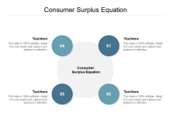 Consumer Surplus Equation Ppt PowerPoint Presentation Pictures Shapes