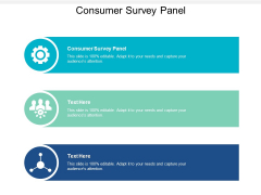 Consumer Survey Panel Ppt PowerPoint Presentation Styles Tips Cpb