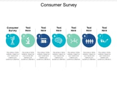 Consumer Survey Ppt PowerPoint Presentation Model Cpb