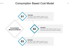 Consumption Based Cost Model Ppt PowerPoint Presentation Model Example Topics Cpb Pdf