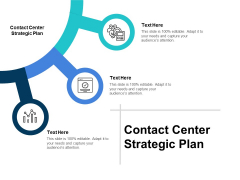 Contact Center Strategic Plan Ppt PowerPoint Presentation Layouts Ideas Cpb