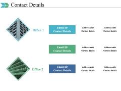 Contact Details Ppt PowerPoint Presentation Ideas Template