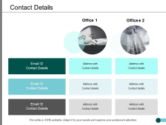 Contact Details Ppt PowerPoint Presentation Layouts Summary