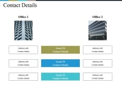 Contact Details Ppt PowerPoint Presentation Model Guide
