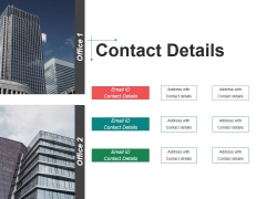 Contact Details Ppt Powerpoint Presentation Model Influencers