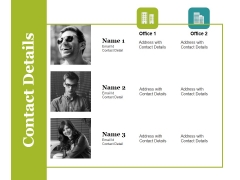 Contact Details Ppt PowerPoint Presentation Pictures Layouts