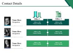 Contact Details Ppt PowerPoint Presentation Portfolio Designs