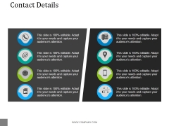 Contact Details Ppt PowerPoint Presentation Professional