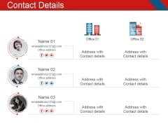 Contact Details Ppt PowerPoint Presentation Show Maker