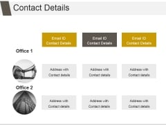 Contact Details Ppt PowerPoint Presentation Slide Download