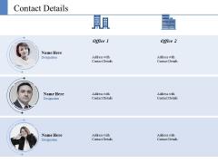 Contact Details Ppt PowerPoint Presentation Slides Structure