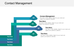 Contact Management Ppt PowerPoint Presentation Professional Rules Cpb