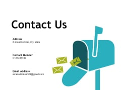 Contact Us Business Ppt PowerPoint Presentation Pictures Mockup