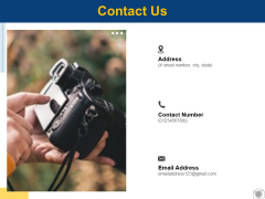 Contact Us Communication Planning Ppt PowerPoint Presentation Images