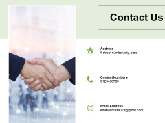 Contact Us Management Ppt PowerPoint Presentation Gallery Elements