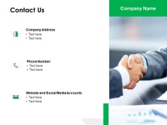 Contact Us Management Ppt Powerpoint Presentation Layouts Professional