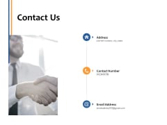 Contact Us Management Ppt PowerPoint Presentation Professional Example