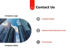 Contact Us Management Ppt PowerPoint Presentation Slides Master Slide