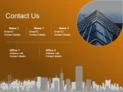 Contact Us Ppt PowerPoint Presentation File Templates