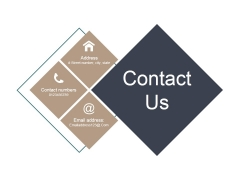 Contact Us Ppt PowerPoint Presentation Ideas Diagrams