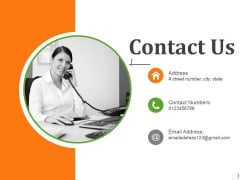 Contact Us Ppt PowerPoint Presentation Ideas Microsoft