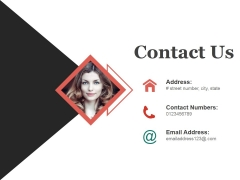 Contact Us Ppt PowerPoint Presentation Infographic Template Design Ideas