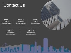 Contact Us Ppt PowerPoint Presentation Infographic Template Example Introduction