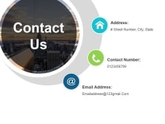 Contact Us Ppt PowerPoint Presentation Inspiration Sample