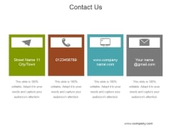 Contact Us Ppt PowerPoint Presentation Picture