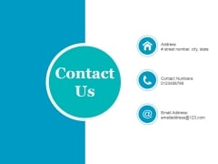 Contact Us Ppt PowerPoint Presentation Professional Picture