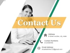 Contact Us Ppt PowerPoint Presentation Show Information