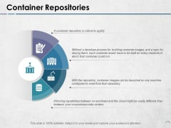 Container Repositories Ppt PowerPoint Presentation Pictures Backgrounds