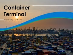 Container Terminal Multiple Surveillance Tower Stock Warehousing Facility Ppt PowerPoint Presentation Complete Deck