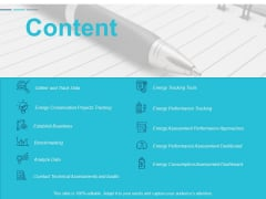 Content Analyze Data Ppt Powerpoint Presentation Outline Influencers