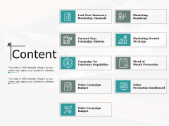 Content Business Marketing Ppt PowerPoint Presentation Pictures Template