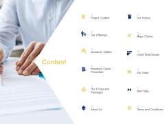 Content Client Testimonials Ppt Powerpoint Presentation Templates