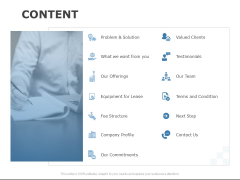 Content Commitments Clients Ppt PowerPoint Presentation Professional Themes