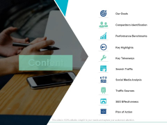 Content Competitors Identification Ppt PowerPoint Presentation Slides Background Image