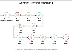 Content Creation Marketing Ppt PowerPoint Presentation Gallery Visuals Cpb
