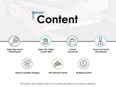 Content Current Vacancies Ppt PowerPoint Presentation Slide Download